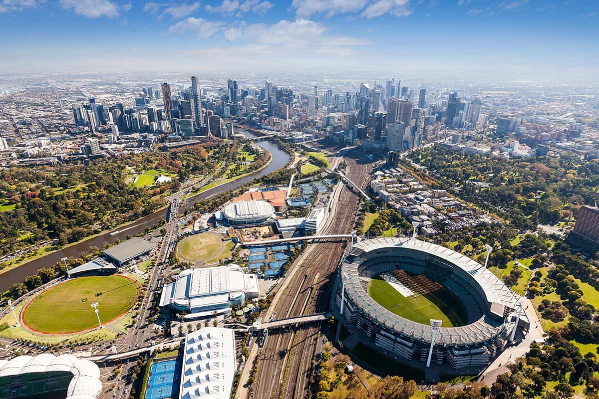 Melbourne Aerial View